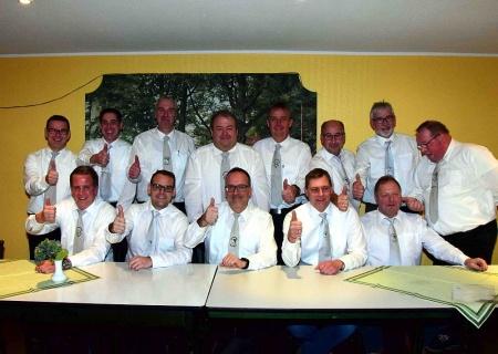Umbildungen und Ergänzungen im Vorstand der Dorfschützen