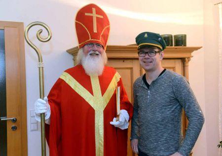 Nikolaus im Dauereinsatz für unseren Schützenverein