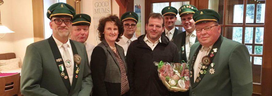 Anlass zum Feiern: 25 Jahre Vereinslokal Beckmann
