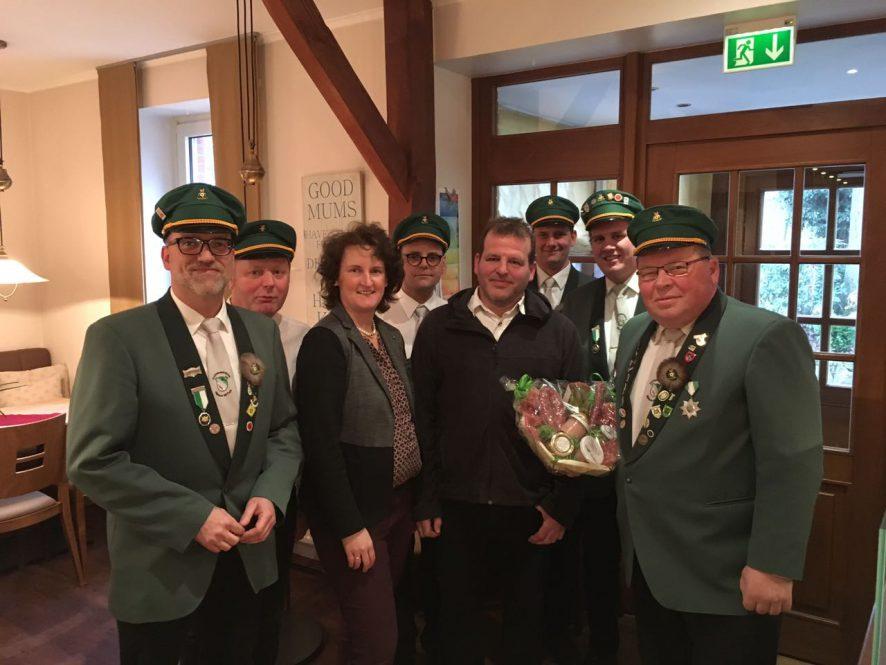 "25 Jahre Vereinslokal Gaststätte Beckmann ""Hohe Heide"""