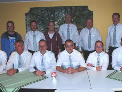 Stühlerücken im Vorstand der Dorfschützen