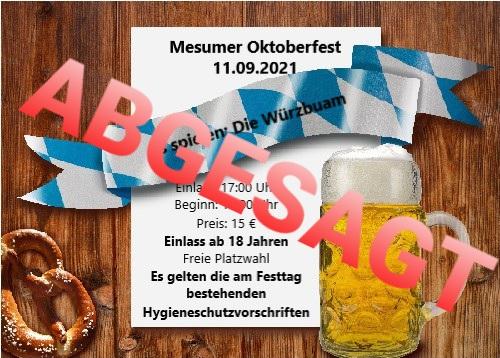 Letzter Rückgabetermin der Oktoberfestkarten ist am Samstag, dem 07.08.2021