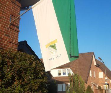 Rheine zeigt Flagge - Mesum-Dorf auch!