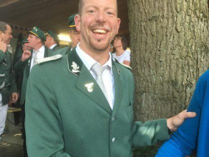 Holger Schnellenberg ist neuer Bierfasskönig der Schützenvereinigung 1877 Mesum-Dorf e.V.