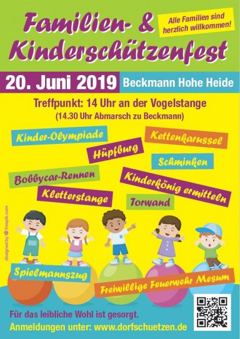 Familien- und Kinderschützenfest am 20.06.2019