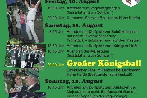 Schützenfest 2018: Hier alle Termine...