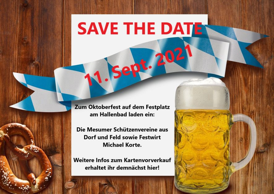 SAVE THE DATE !!!!